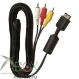 AV кабель для подключения ps1,ps2,ps3 к телевизору