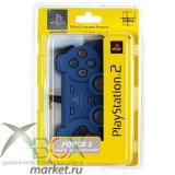 PS 2 Controller Analog Синий force 2