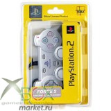 PS 2 Controller Analog Серебро force 2