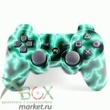 Джойстик PlayStation 3 (беспроводной) Зелёная молния