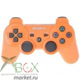 Джойстик PlayStation 3 (беспроводной) оранжевый