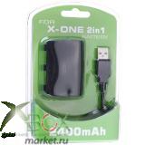 Аккумулятор + Зарядный кабель для джойстика XBOX ONE (Китай)
