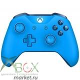 Беспроводной геймпад для Xbox One с 3,5 мм разъемом и Bluetooth (синий)