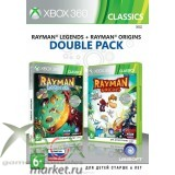 Rayman Legends + Rayman Origins Double Pack
