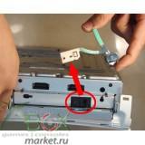 Кнопка открытия лотка привода XBOX360 FAT (белая,хром)