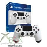 Джойстик PlayStation 4 (белый-оригинал)