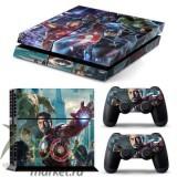 Виниловые наклейки для PlayStation 4 (в ассортименте)
