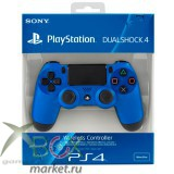 Джойстик PS4. Цвет Синий.Оригинал