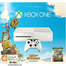 XboxOne White + SunsetOverdrive