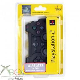 PS 2 Controller Analog Original Force 2 Беспроводной Чёрный
