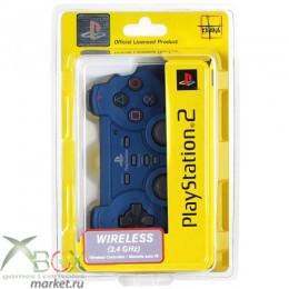 PS 2 Controller Force 2 Беспроводной Синий