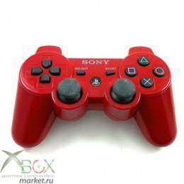Джойстик PlayStation 3 (беспроводной красный)