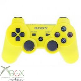 Джойстик PlayStation 3 (беспроводной) желтый