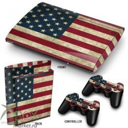 Виниловые наклейки для PlayStation 3 Slim S (в ассортименте)