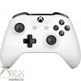 Беспроводной геймпад для Xbox One с 3,5 мм разъемом и Bluetooth (White)