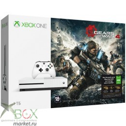 XBOX ONE S 1 ТБ + Gears of War 4 + Live Gold 3 месяца