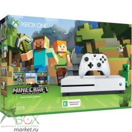 XBOX ONE S 500 ГБ + Minecraft