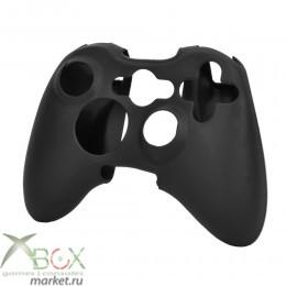Xbox 360 силиконовый чехол для джойстика чёрный,серый