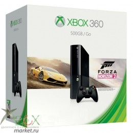 XBOX360 Slim E 500GB + Forza Horizon 2