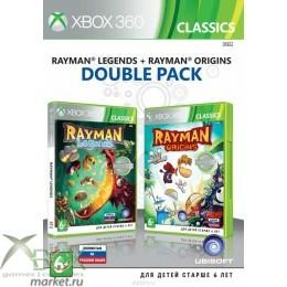 Rayman Legends + Rayman Origins Double Pack