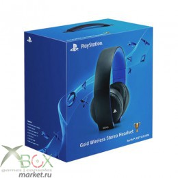 PS 4 Наушники Gold Wireless Stereo Headset (Беспроводные)