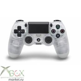 Джойстик PlayStation 4 Crystal (прозрачный)