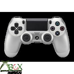 Джойстик PlayStation 4 (серебристный-оригинал)