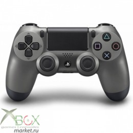 Джойстик PlayStation 4 Steel Black (тёмно серый)